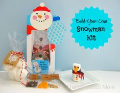 Build Your Own Snowman Kit: Homemade Christmas Gifts