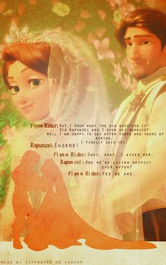 Disney Princess Photo: Tangled Ever After ~ ♥ Disney Princess Rapunzel, Disney Princess Quotes, Disney Tangled, Disney Magic, Rapunzel Movie, Disney Memes, Disney Quotes, Disney Cartoons, Disney Fan Art