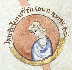 Harthacnut 17 March 1040 – 8 June 1042 - born 1018 Son of Cnut and Emma of Normandy - died    8 June 1042 Lambeth Aged about 24