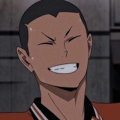 Haikyuu Karasuno, Haikyuu Anime, Cute Anime Boy, Anime Guys, Ghibli, Tanaka Haikyuu, Tanaka Ryuunosuke, Haikyuu Wallpaper, Anime Boyfriend