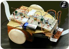 Make LFR with out using Microcontroller