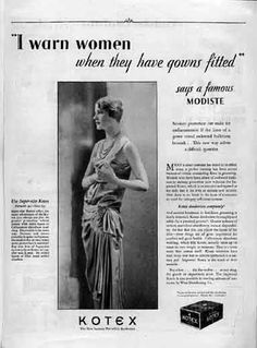 Edward Steichen took this photo of Lee Miller in 1928 and sold it to Kotex, making her the first actual person to appear in a ad for menstrual hygiene. Lee Miller, Vintage Advertisements, Vintage Ads, Vintage Posters, Funny Vintage, Retro Ads, Vintage Images, Liberation Of Paris, Beauty Ad