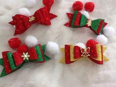 Laços Lacinhos De Natal Em Eva - Pets - R$ 7,80