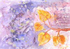 Olga Pavlova.Joy of Creation.: Watercolor Diary. October.