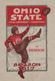 COLLEGE FOOTBALL: OSU Football Program: October 27, 1917