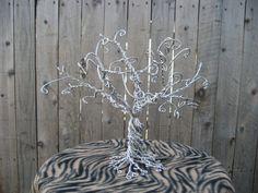 Twisted Metal Jewelry Tree by DressMeUpRetro on Etsy, $25.00