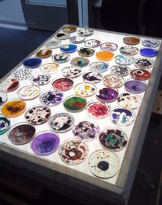 The Petri dish project, 2012. #microbiology