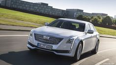 2017 Cadillac CT6 (Euro-Spec) - Front Three-Quarter - Picture # 28