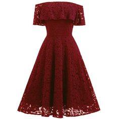375ebd30ebb5a Solid Color Off Shoulder Short Sleeves Short Lace Dress Parti Elbiseleri,  Mezunlar Gecesi Elbiseleri,