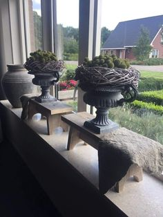 Diy Pallet Furniture, Home Furnishings, Shabby Chic, Planters, Home And Garden, Living Room, Antiques, Inspiration, Design