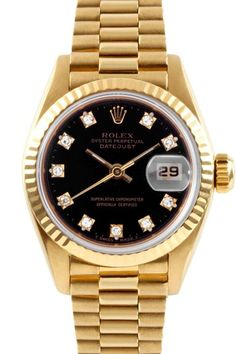 Women's President 18K Yellow Gold Watch by Austin's Watches on @HauteLook