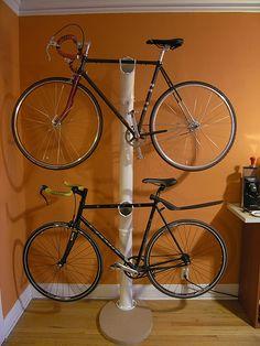pvc bicycle rack