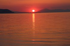 Sunset, Corinthian Gulf, Derveni, Greece