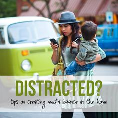 Distracted? My Quest to Restoring Media Balance in my Home. howdoesshe.com #mediabalance ...she really has some BRILLIANT ideas!