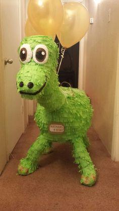La piñata de dinosaurio buena por pinatasbydiana en Etsy