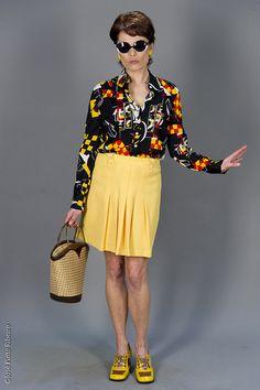 Teresa Castro (Ana Padrão) - moda de Luanda dos anos 70