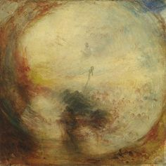 Джозеф Мэллорд Уильям Тёрнер. Свет и цвет (теория Гёте). Утро после потопа. Моисей пишет Книгу Бытия. 1843