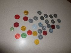 Lot of 29 AA Recovery Coins Tokens