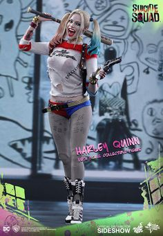 The Exclusive Hot Toys Harley Quinn Sixth Scale Figure is available at Sideshow.com for fans of DC Comics, Suicide Squad and Margot Robbie.