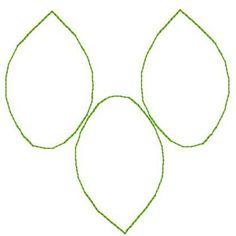 Editable green leaf templates (SB10010) - SparkleBox ...
