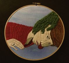 Embroidery by Alaina Varrone