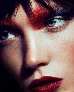 Beautyshoot with @Jolinasofie and #Hair & #Makeup@josiemartens @bigoudi #beauty #hamburg #makeup #red #redlips #girl #women #pictureoftheday #imageoftheday #instagod #trend #dark #chanel #dior #givenchy #lvmh