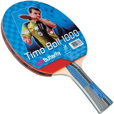 Butterfly Timo Boll 1000 Table Tennis Racket #LearningtoPlayTennis Table Tennis Rubber, How To Play Tennis, Butterfly Table, Table Tennis Racket, Ping Pong Paddles, Adjustable Table, Indoor Games, Rackets, Free Shipping