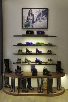 f4f4a2043 17 Best Shoes Display images in 2017 | Shoe display, Boutique stores ...
