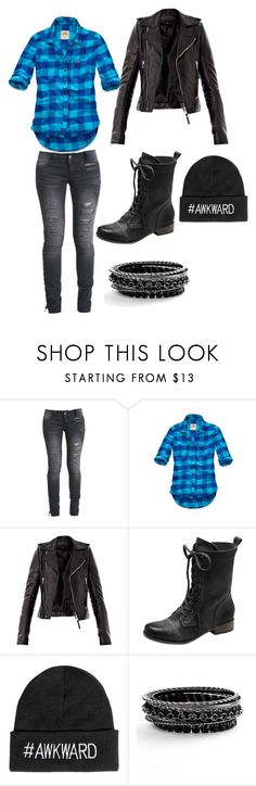 """Ff"" by carolyn-1999 ❤ liked on Polyvore featuring Rock Rebel, Hollister Co., Balenciaga, Vince Camuto and Boohoo"