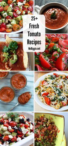 25+ Fresh Tomato Recipes   NoBiggie.net