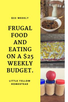 Frugal food Frugal Living Tips, Frugal Tips, Frugal Meals, Cheap Meals, Budget Meals, Cheap Food, Frugal Recipes, Weekly Budget, Save On Foods