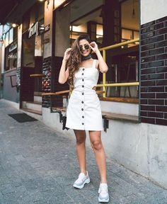 Trendy Moda 2019 Noche Casual in 2020 Cute Dresses, Casual Dresses, Casual Outfits, Summer Outfits, Fashion Dresses, Cute Outfits, Maxi Dresses, Fashion Fashion, Style Casual