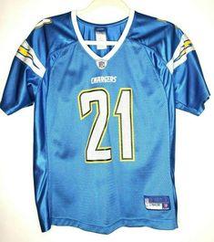 6ec21f2fd25 LaDainian Tomlinson Sky Blue Jersey Size L Large San Diego Chargers Stitched  NFL #Reebok #SanDiegoChargers
