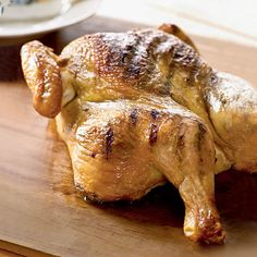 How to Grill a Whole Chicken | Grilling gives your bird a crispy, smoky exterior and a tender interior in a flash.