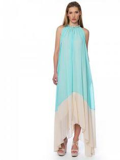 #blue_dress Maxi Dresses, Blue Dresses, Fashion, Moda, Fashion Styles, Curve Maxi Dresses, Fashion Illustrations, Maxi Skirts