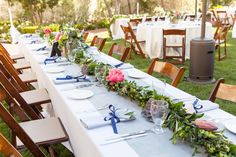 Get inspired by this Al Fresco Spring Fête in Santa Barbara. Discover the vendors responsible for this stunning event, and book them for your big day. Only on Zola. Wedding Vendors, Weddings, Santa Barbara, Fresco, Photo Credit, Club, Table Decorations, Spring, Inspiration