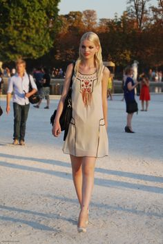 Daphne Groeneveld, model, off duty