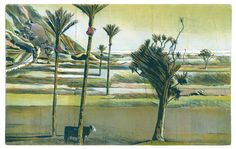 Stanley Palmer (NZ) - Bamboo engraving and lithograph