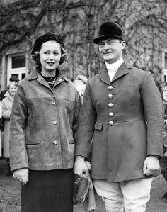 8th Earl Bathurst & Judith Mary Nelson