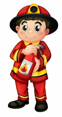 "Photo from album ""Пожарный, спасатель"" on Yandex. Infant Activities, Preschool Activities, Fireman Party, School Images, Community Helpers, Kids Education, Fire Trucks, Firefighter, Cartoon Characters"