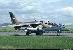 Alpha Jet MS1 -                  Alpha Jet MS1: versión ensamblada en Egipto.