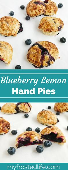 Blueberry Lemon Hand Pies – With a fresh berry filling and puff pastry crust, these individual pies are a quick and easy twist on a classic dessert. These homemade mini treats are perfect for summer and a fun way to use fresh berries. Click through to get the recipe for these mini desserts and get baking today!