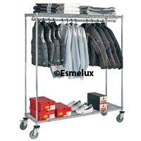 www.esmelux.com/estantería-cromada-textil-con-ruedas