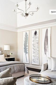 10 όμορφες ιδέες για διακόσμηση τοίχου με μεγάλους πίνακες. | Φτιάξτο μόνος σου - Κατασκευές DIY - Do it yourself