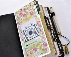 Faux Dori notebook from Kerri Bradford blog.