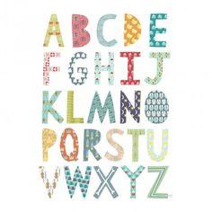 Alphabet Poster for Olli Ella