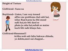 Height of Torture  Daily Status Quotes