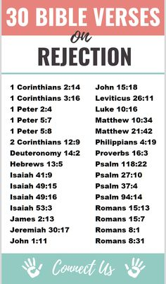 30 Uplifting Bible Scriptures on Rejection Bible Study Plans, Bible Plan, Bible Study Tips, Bible Study Journal, Bible Lessons, Prayer Scriptures, Bible Verses, Bible Quotes, Faith Quotes