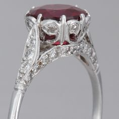 Holy crap. This is IDENTICAL to my great grandmothers ring that I got for my birthday, except hers is gold