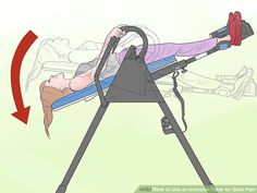 How to Use an Inversion Table for Back Pain. Inversion therapy is used to ease back pain caused by degenerative or herniated discs, spinal stenosis or other spinal conditions. Inversion Therapy, Inversion Table, Spinal Stenosis, Low Back Pain, Workout Machines, Qigong, Sciatica, Physical Fitness, No Equipment Workout